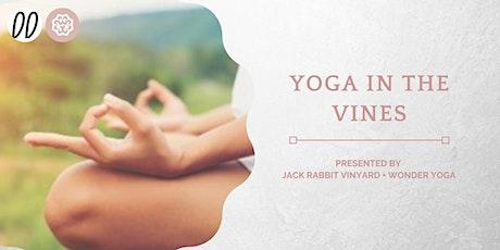 Yoga in the Vines @ Jack Rabbit Vineyard 5 December 2020 tickets