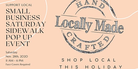Small Business Saturday Sidewalk Shopping Event tickets