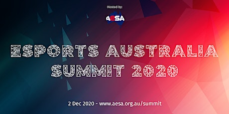 Esports Australia Summit 2020 tickets