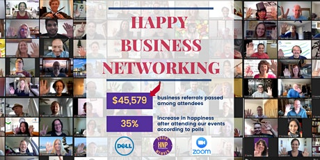 Free Online Happy Business Networking Washington tickets