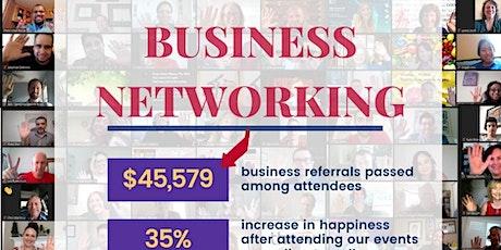Free Online Happy Business Networking Washington tickets