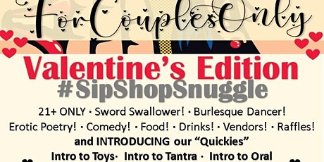 PoetRaeMonet Presents... FOR COUPLES ONLY:  Valentine's Edition tickets