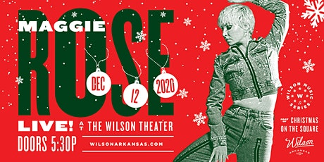 Wilson Music Series: Maggie Rose Christmas tickets