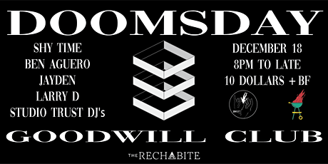Studio Trust Presents: Doomsday tickets