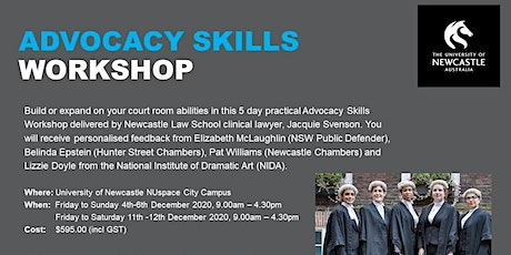 Advocacy Skills Workshop tickets