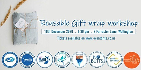 Make your own sustainable wrapping paper tickets