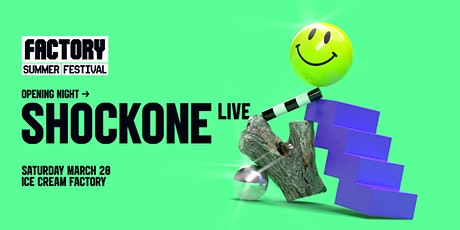 ShockOne (Live) [Perth] | Factory Summer Festival tickets