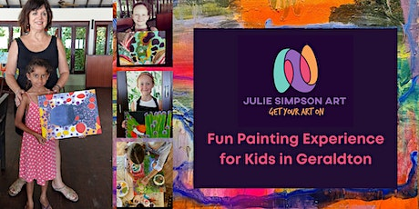 Get Your Art On - Fun Painting Experience for Kids in Geraldton tickets