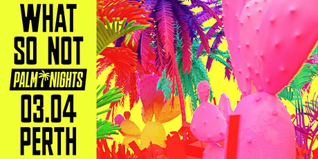 PALM NIGHTS  pres. What So Not [Perth] | Factory Summer Festival tickets