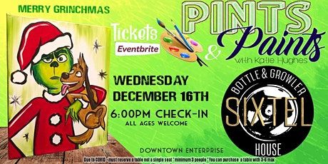 Pints & Paints at Sixtel Bottle And Growler tickets