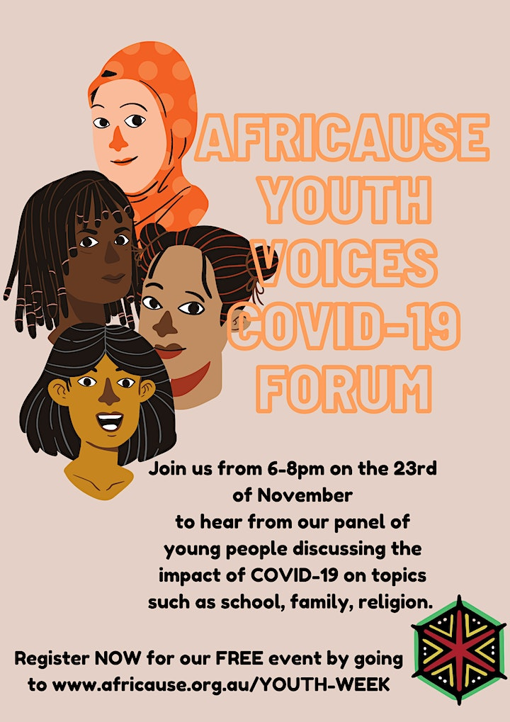 Africause Youth Voices COVID-19 Forum image
