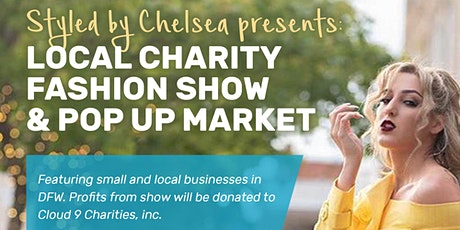 Local charity fashion show & pop up market tickets