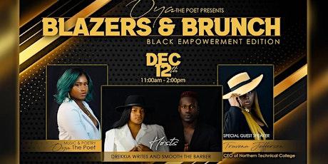 Blazers & Brunch tickets