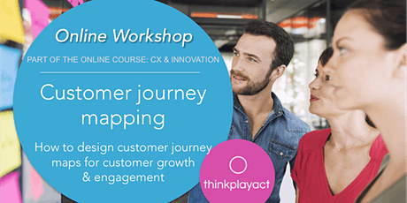 Online Workshop : Customer Journey Mapping tickets
