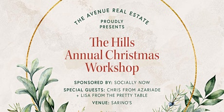 The Hills Annual Christmas Wreath Workshop tickets