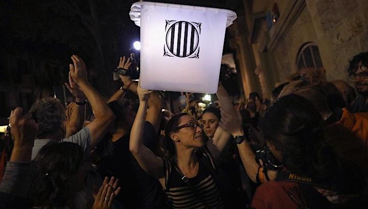 Image de ANC et société civile: moteurs de l'indépendantisme en Catalogne