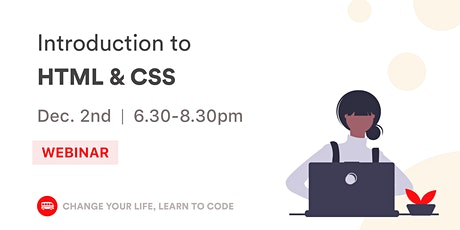 Introduction to HTML & CSS: Build Your Landing Page! tickets