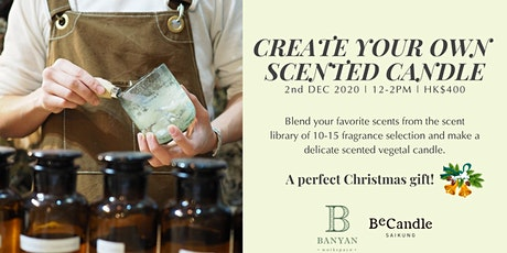Create Your Own  Scented Candle Workshop tickets
