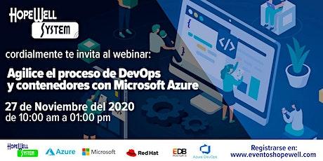 Agilice el proceso de DevOps y contenedores con Microsoft Azure tickets