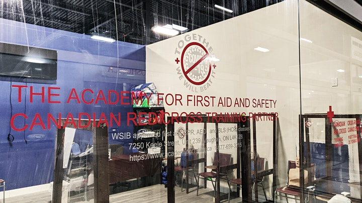 Red Cross First aid CPR & AED certification classes in Toronto and Vaughan image
