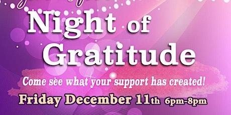 Night of Gratitude tickets