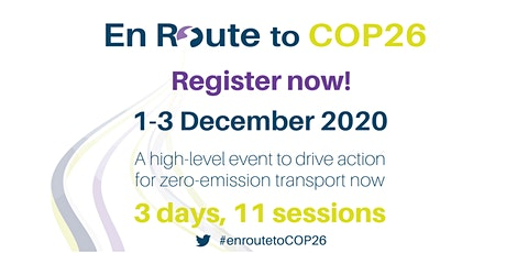 En Route to COP26 tickets