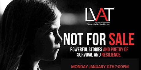 """Lehigh Valley Anti-Trafficking Week - """"Not For Sale"""" Poetry Night tickets"""