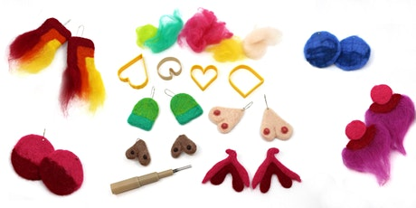 WORKSHOP | Felted Feminist Earrings with Lulu Geraghty tickets