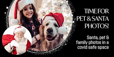 Pet & Santa Family Photos.  9, 10 & 12 December tickets