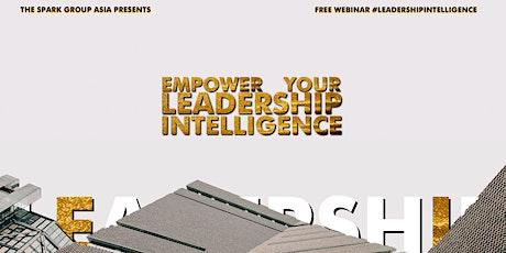 WEBINAR) Empower Your Leadership Intelligence tickets