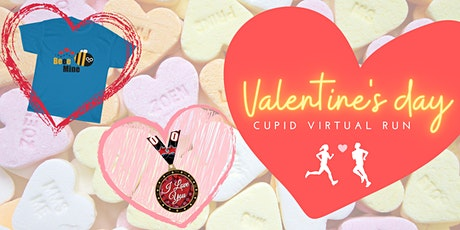 Valentine's Day Cupid Virtual Run tickets