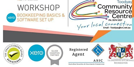 Xero Training and Bookkeeping Basics - TOODYAY tickets