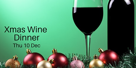 Xmas Handpicked Wine Dinner tickets
