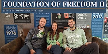 Foundation of Freedom II tickets