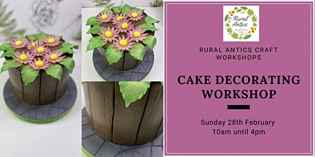 Cake Decorating Workshop tickets