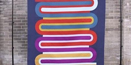 Paper Round Quilt with Papper, Sax, Sten tickets