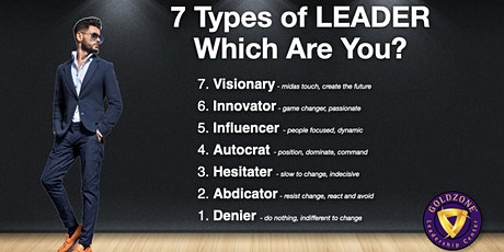 7 Types of Leader FREE 2-Hour Seminar tickets