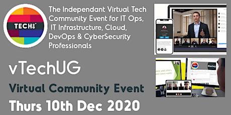 vTechUG Virtual Tech Community Event tickets