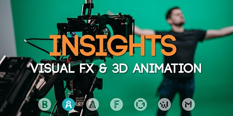 Study Insights: Visual FX & 3D Animation Tickets
