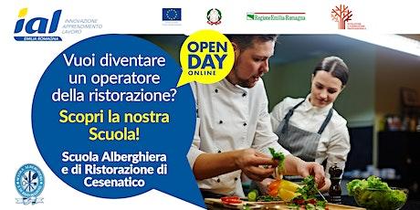 Open Day online Scuola Alberghiera e di Ristorazione di Cesenatico biglietti