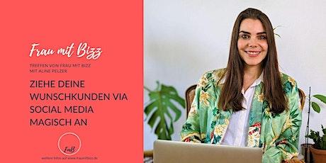 Tipps wie Du Wunschkunden für dein Business gewinnst | Frau mit Bizz tickets