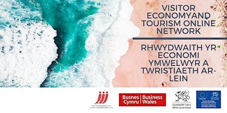Rhwydwaith twristiaeth ar-lein // Online Tourism Network tickets