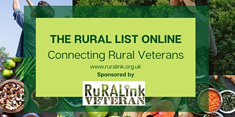THE RURAL LIST ONLINE - WORK EXPERIENCE DURING RESETTLEMENT tickets