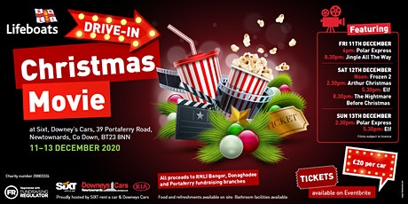 RNLI Christmas Drive In Movies tickets