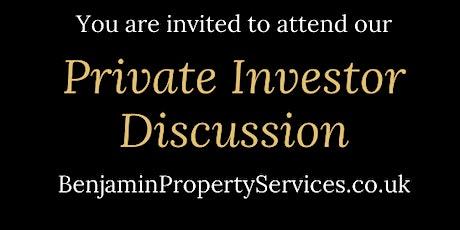 Virtual Private Investor Discussion Events