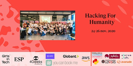 Hacking for Humanity - Girls in Tech Spain boletos