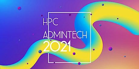 HPC ADMINTECH 2O21 · Sitges