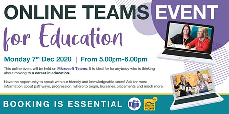 Online Education Information Event tickets