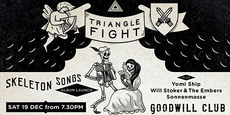 Triangle Fight Album Launch 'Skeleton Songs' tickets