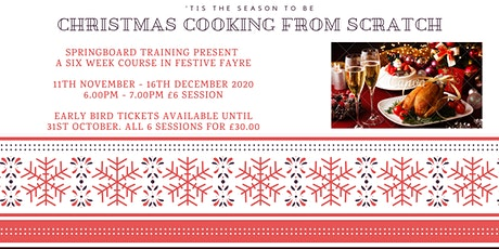 Christmas Cooking From Scratch! tickets